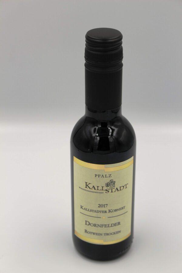 Flasche Dornfelder Portion