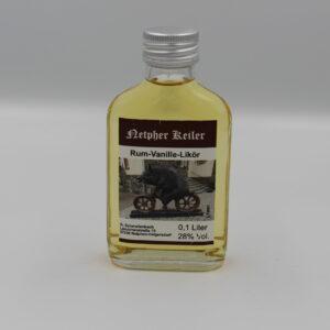 Flasche Likör