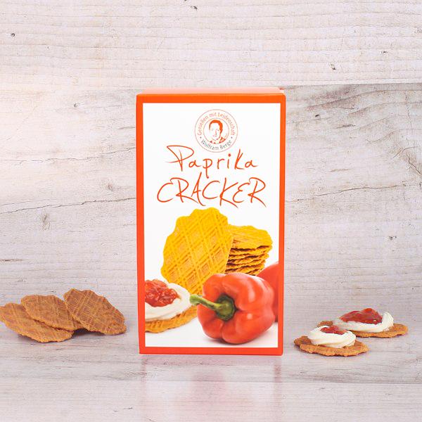 Feine Biscuits mit Paprika