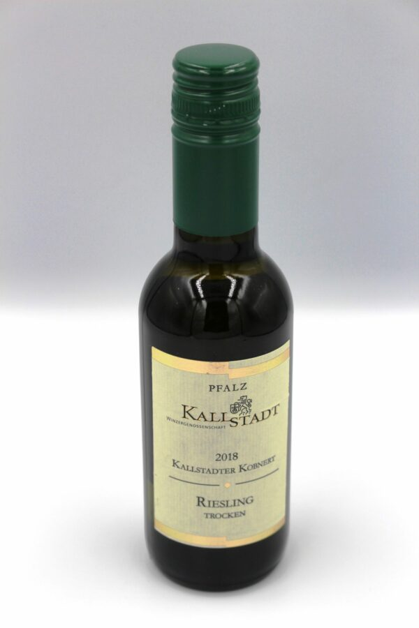 Flasche Riesling Portion
