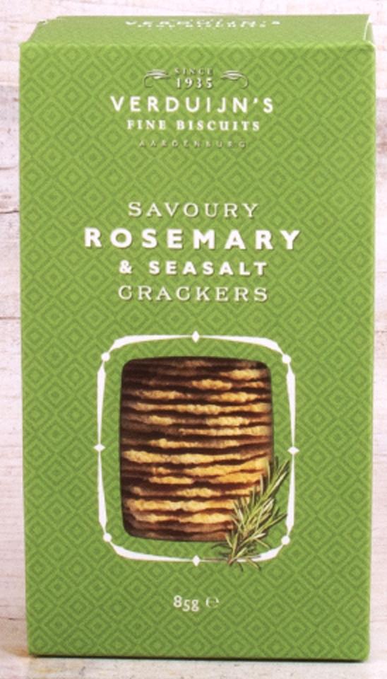 Feine Biscuits mit Rosmarin und Seasalt