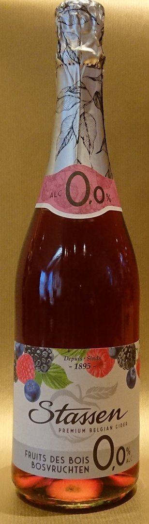 Flasche Sekt alkoholfrei